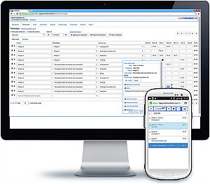 OroTimesheet - Time tracking application